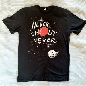 Band Tee || Never Shout Never Graphic T-Shirt